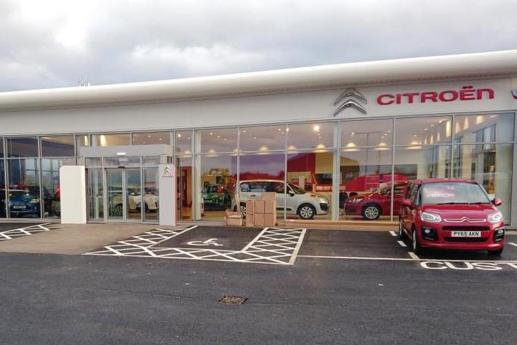 ACAL Citroen Showroom - Edinburgh
