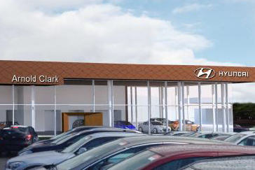 ACAL Hyundai Showroom - Glasgow